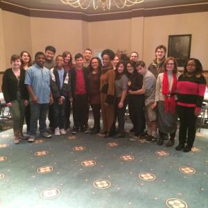 Thanks to Civic Music Association, City Voices students attended the House of Song workshop with 6-time Grammy-nominated jazz singer Nnenna Freelon on February 14, 2015.