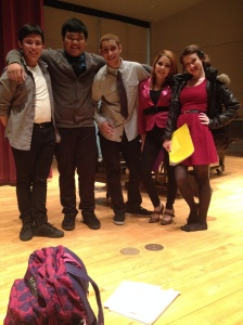 North group recital