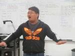 Duncan singing
