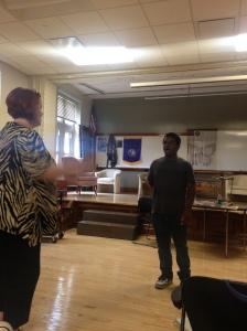 Kameron James at Lynne Rothrock Master Class