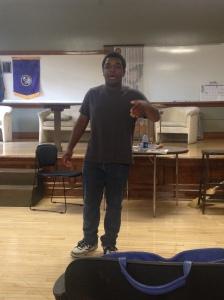 Kameron James at Master Class