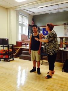 Michael Xayavong and Lynne Rothrock - Master Class