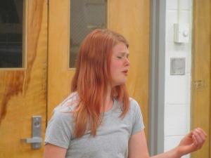 Rebecca singing