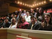 City Voices students at the Tonic Sol-Fa Concert December 19.